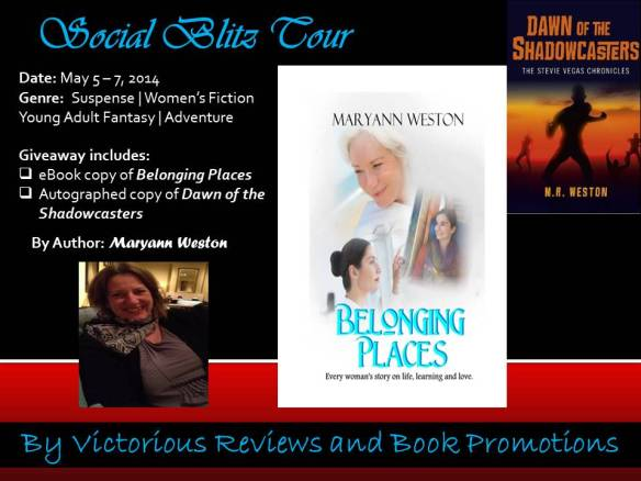 Belonging Places Blog Tour Flyer